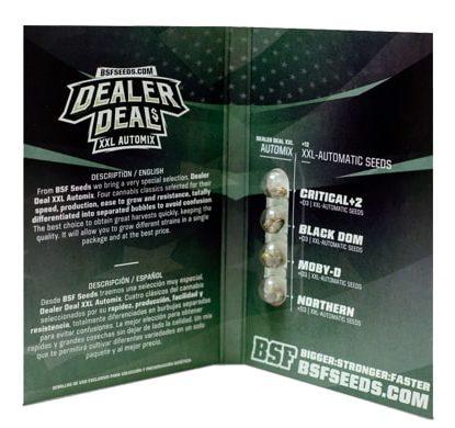 Confezione del kit di semi di cannabis Dealer Deal XXL