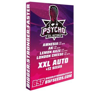 Kit di semi di marijuana Psycho XXL Automix