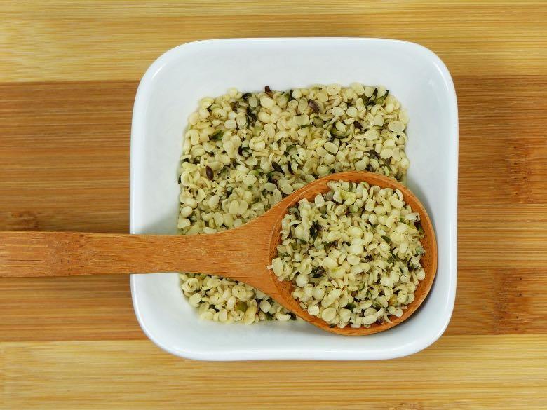 semi di canapa a uso alimentare
