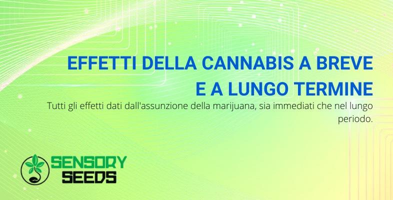 effetti della cannabis
