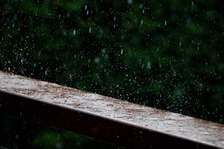 pioggia pericolosa per fioritura outdoor