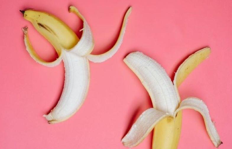 Banane come concime naturale per piante.