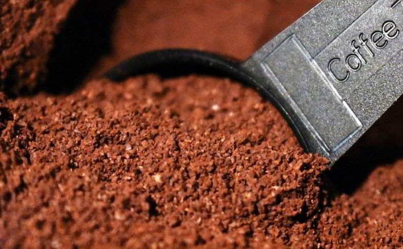 Concime naturale per piante: caffè da mischiare al substrato.