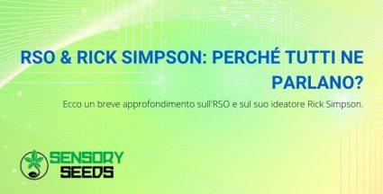 approfondimento sull'RSO e Rick Simpson